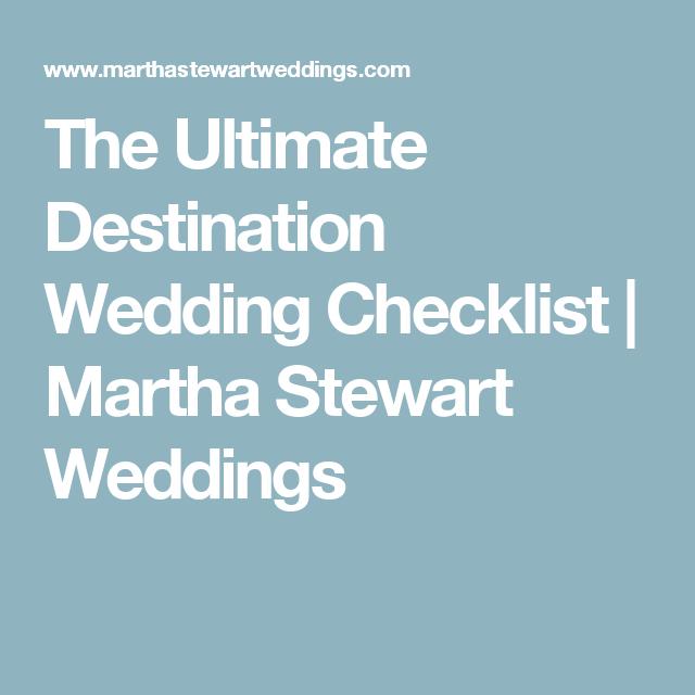 The ultimate destination wedding checklist martha stewart weddings the ultimate destination wedding checklist martha stewart weddings junglespirit Images