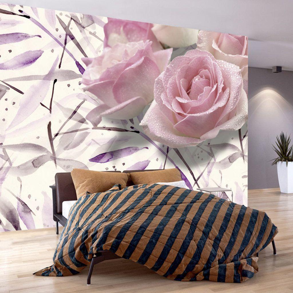 Schlafzimmer Grün Grau: Vlies Tapete Top Fototapete Wandbilder Xxl 350X245 Cm