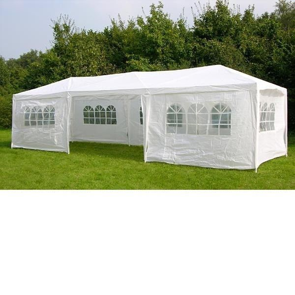 New 10 x 30 pe gazebo outdoor canopy party tent with sidewalls windows  sc 1 st  Pinterest & New 10 x 30 pe gazebo outdoor canopy party tent with sidewalls ...