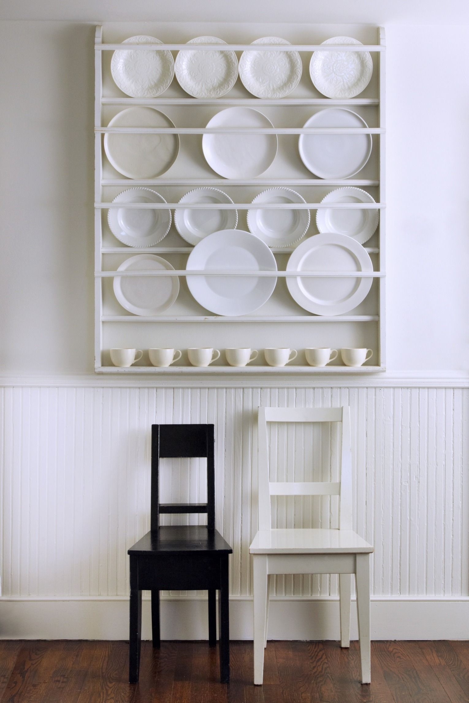 Tricia Foley On How To Create A Beautiful And Organized Home Plate Rack Wall Decorative Plates Display Wall Mount Plate Rack