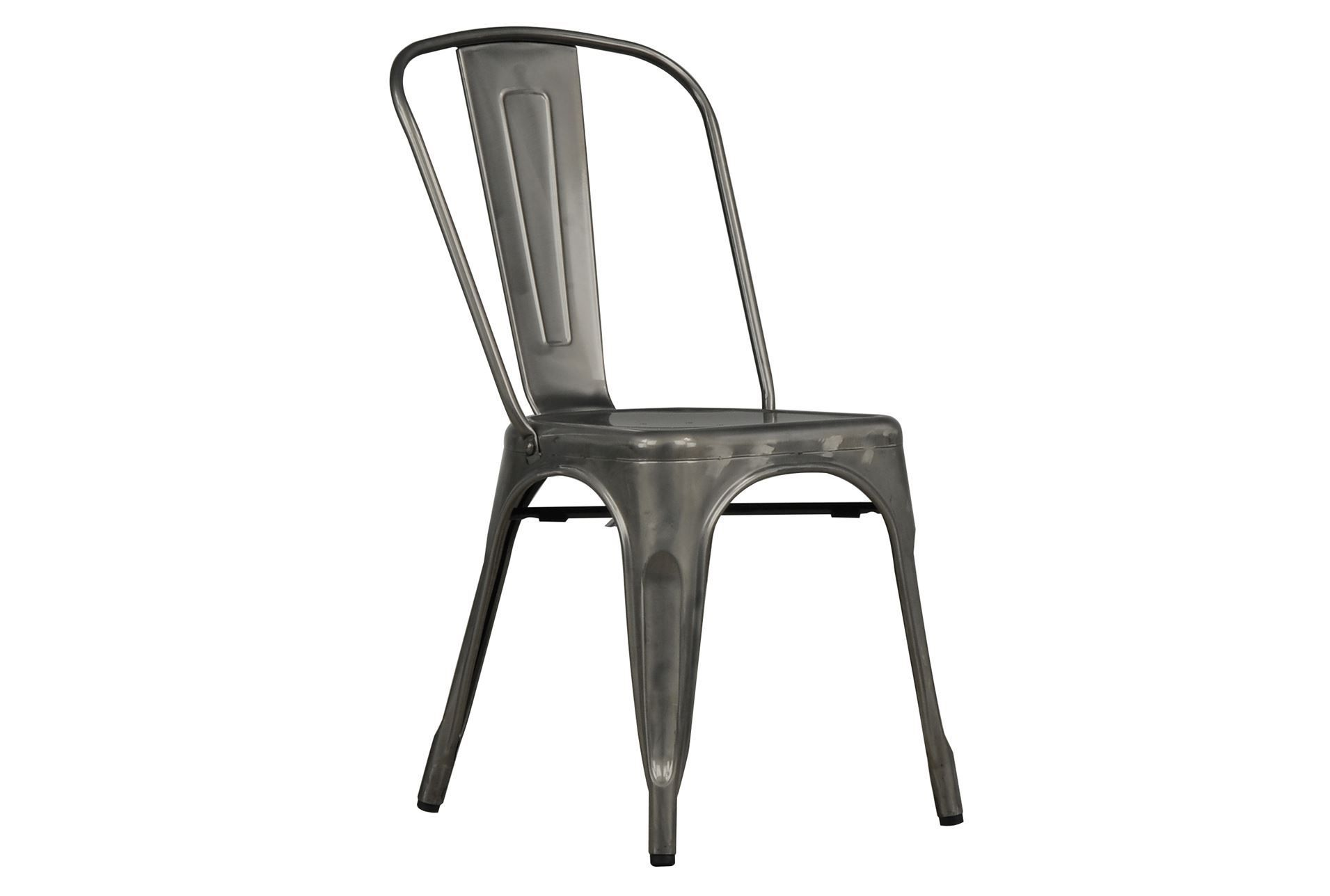 Superbe Cooper Metal Side Chair