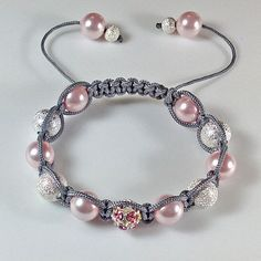 Photo of Shamballa Bracelet -Marion has excellent kits for these bracelets. The post link…