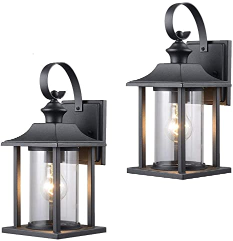 Twin Pack Designers Impressions 73478 Black Outdoor Patio Porch Wall Mount Exterior Light In 2020 Exterior Light Fixtures Outdoor Porch Lights Outdoor Light Fixtures