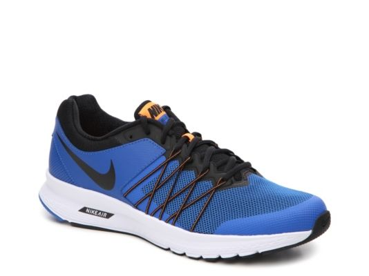 Men's Nike Air Relentless 6 Lightweight Running Shoe - - Black/White
