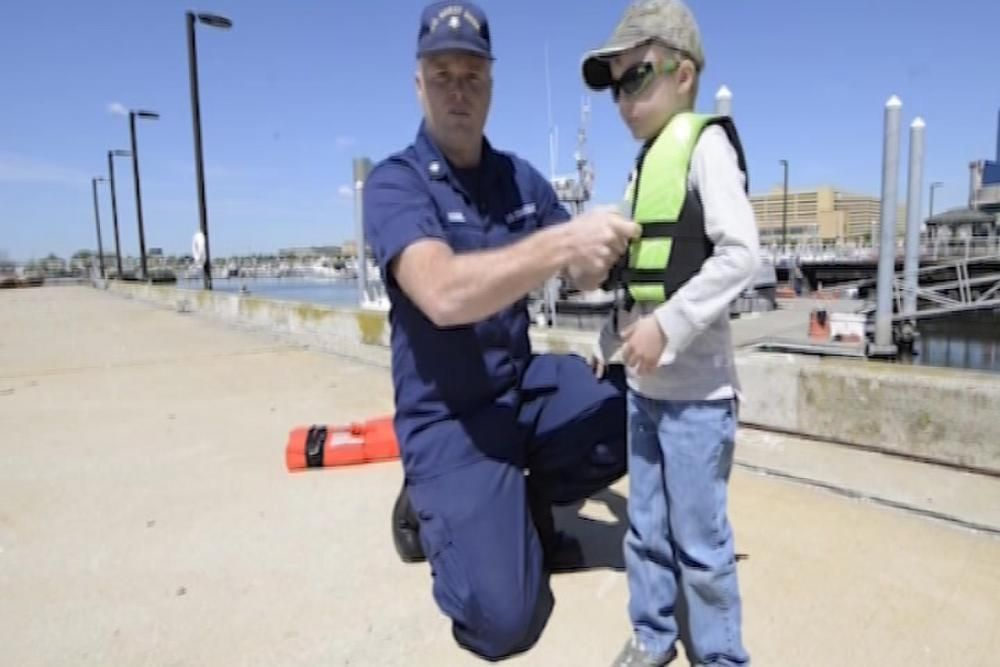 How to fit life jackets for kids boat safety life