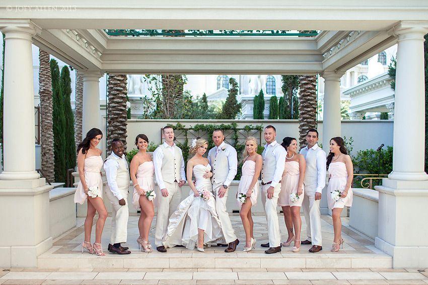 Wedding Photography At Caesar S Palace Juno Garden Mandalay Bay Vista Suite