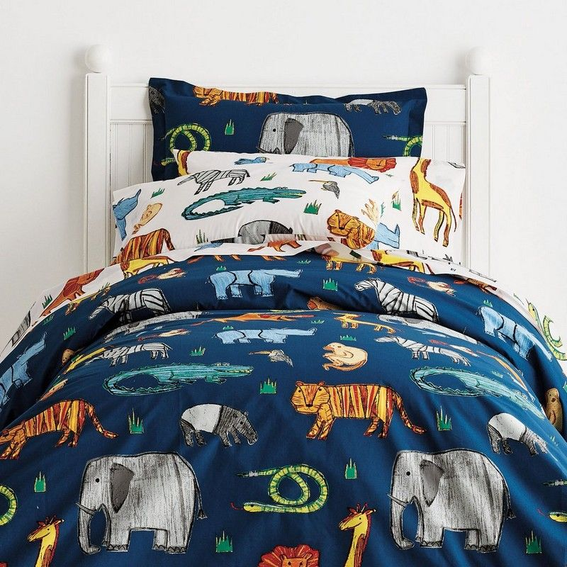 Zoology Percale Bedding Welcome To The Jungle Our Smooth Cotton