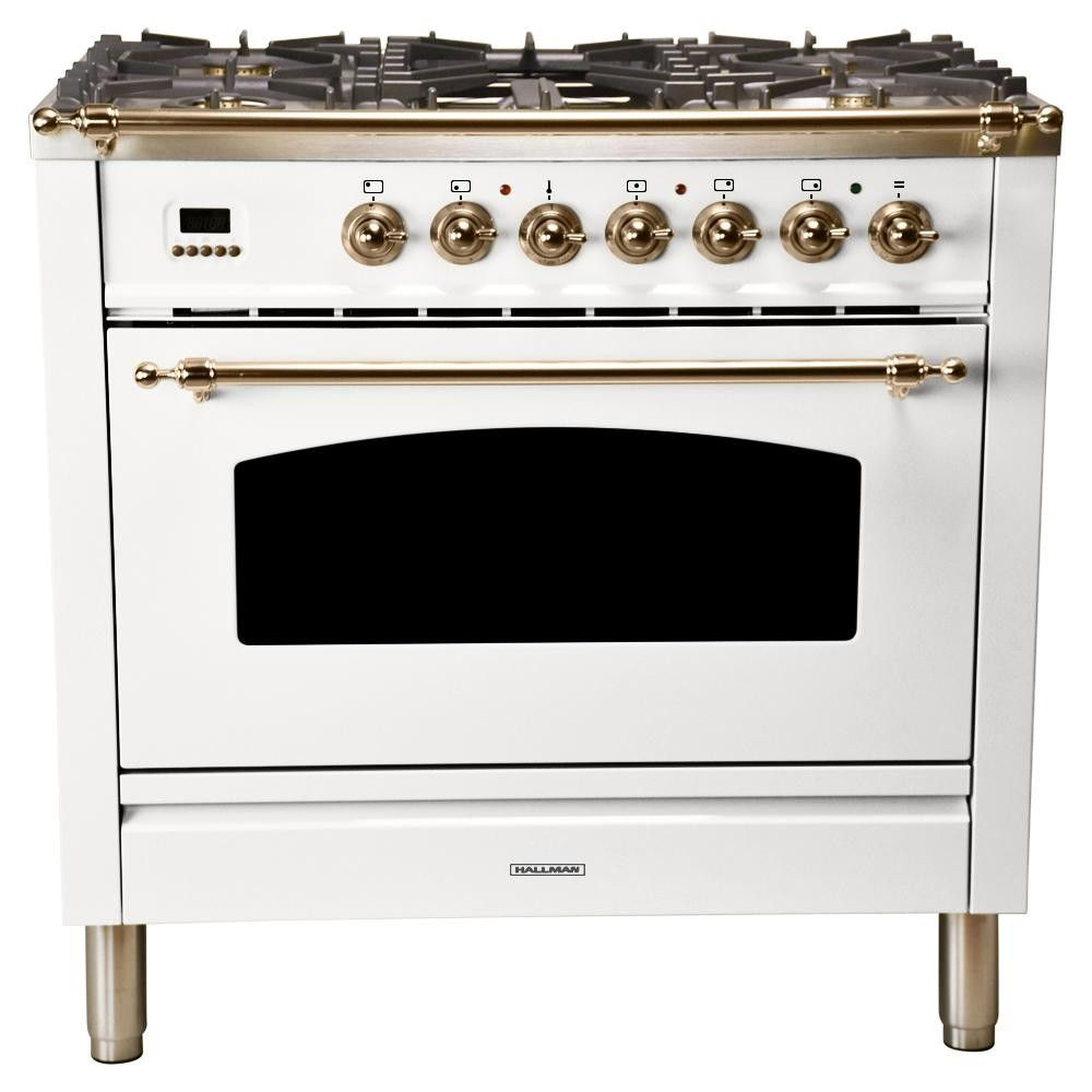 Hallman Range Home Depot Single Oven
