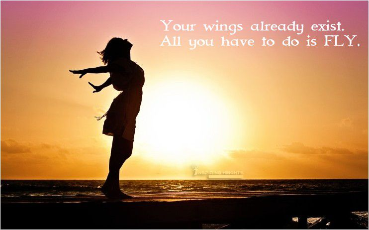 Your Wings already exist..