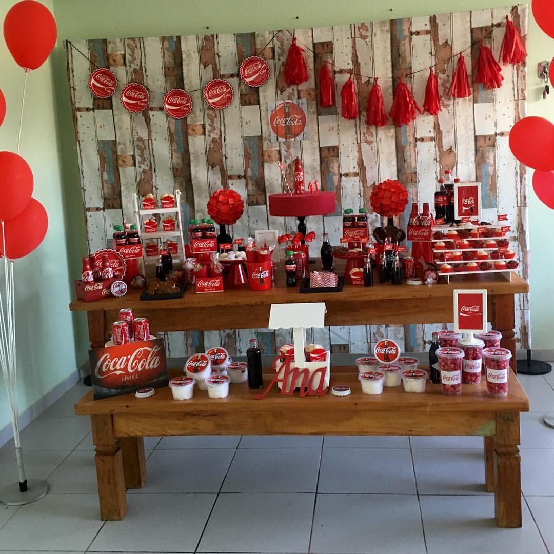 Pin Em Festa Coca Cola