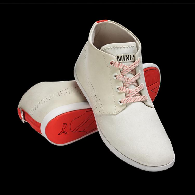 MEN'S MINI BY PUMA, ALWYN Sportlicher Schuh mit orangenem