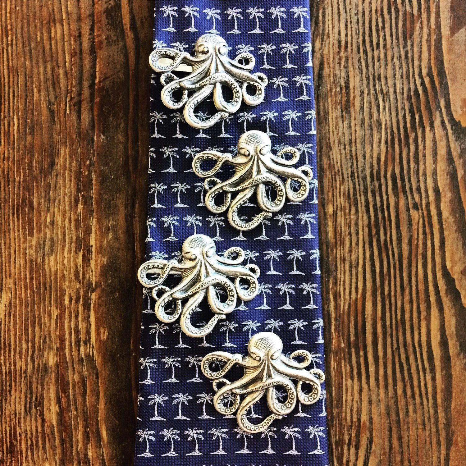 ALL the #octopuses!!  #Handmade tie-tacks and tie-clips shipping out to their new homes today..   #octopus #octopi #nautical #steampunk #seacreatures #kraken #lapelpin #tiebar #mensfashion #mensaccessories #dapper #unisex #mensstyle #handmadewithlove #handmadeaccessory #giftideas #jewelrymaker  #onlineshop #etsyseller #etsyshop #etsyhandmade #weddingfashion #weddingaccesories #groomsmen #hellostranger #beachlife #tietack #tieclip