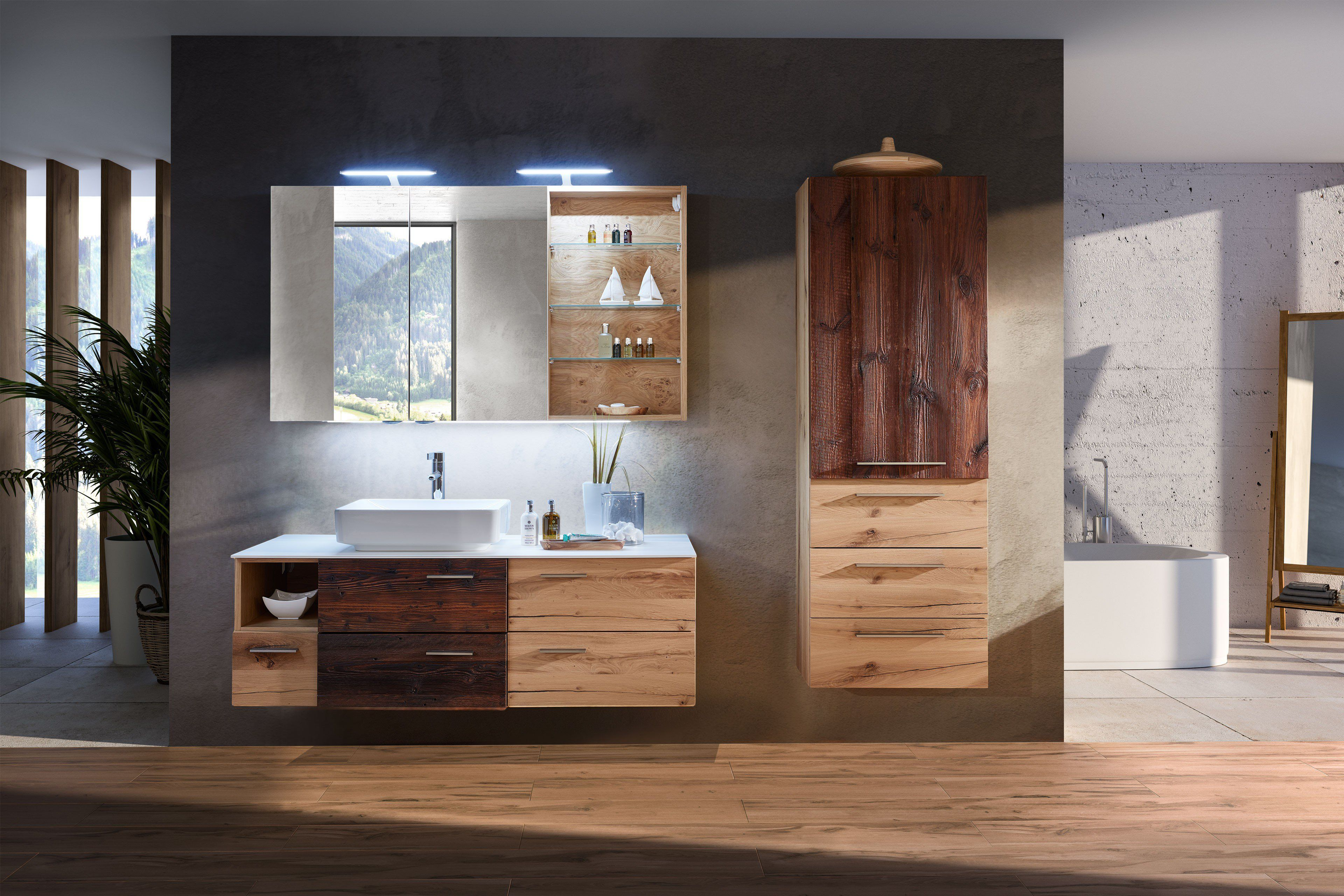 Schroder Mobel Kitzalm Alpenflair Badezimmer Alteiche Mobel Letz Ihr Online Shop Badezimmer Einrichtung Badezimmer Innenausstattung Alte Eiche