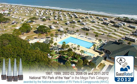 Myrtle Beach South Carolina Prweb December  Ocean Lakes Family Campground Recently Became The Silver Award Winner Of Trailer Life Magazines