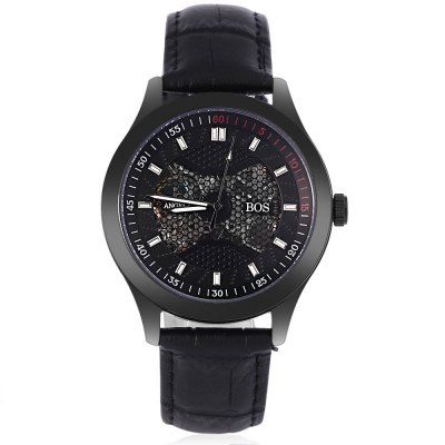 Angela Bos 9015G Men Automatic Wind Mechanical Watch #CLICK! #clothing, #shoes, #jewelry, #women, #men, #hats