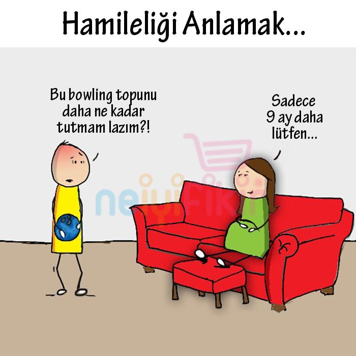 Empati :) #anne   #anneolmak  #hamile #hamilelik #hamileyim   #9ay   #comics #anneyim   #anneyiz   #bebek  #bebekler #baby #babies #fun  #neiyifikir