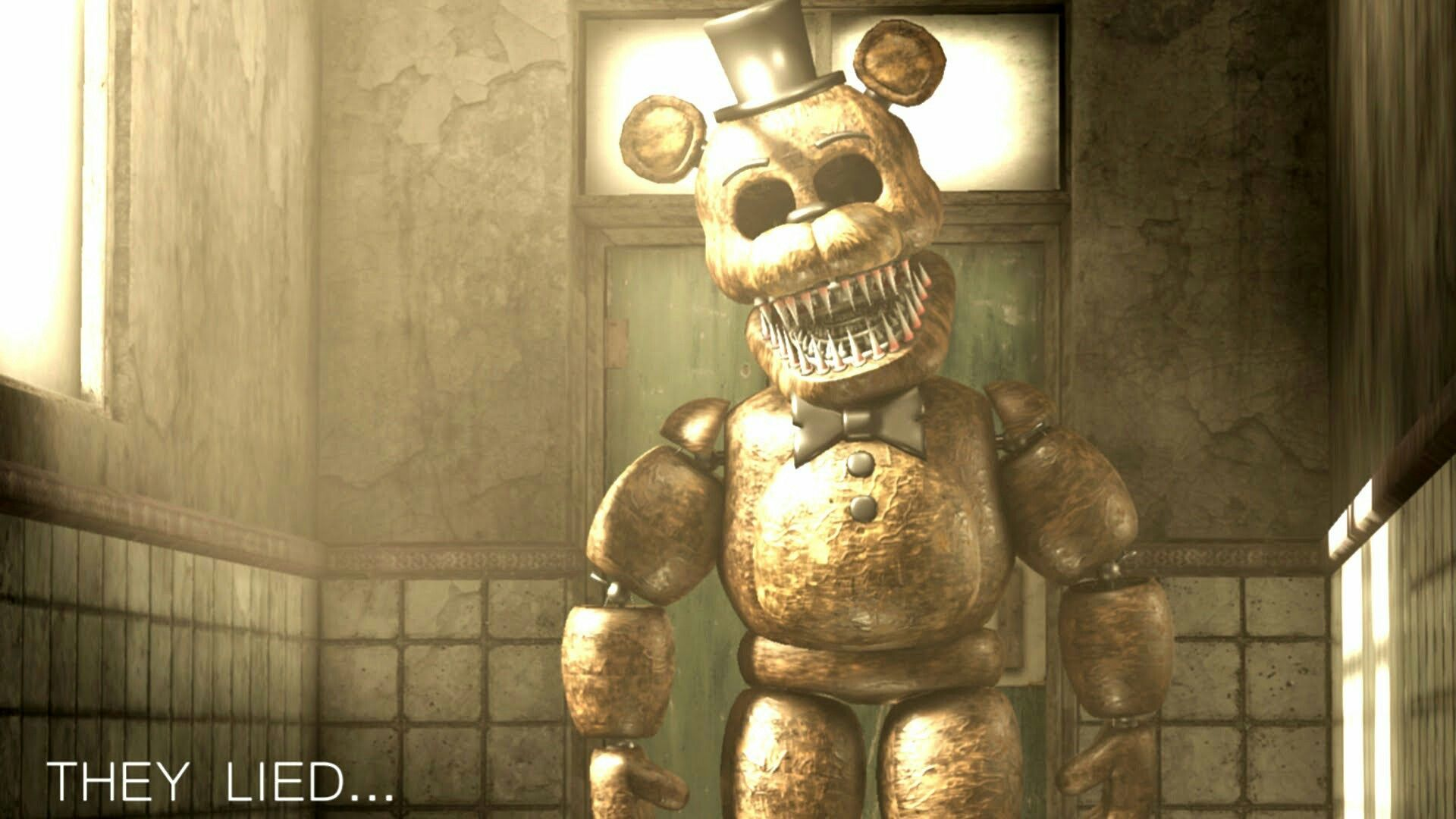 FNAF Sinister Turmoil they lied on GameJolt