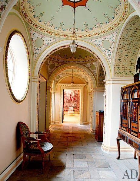Passage Dumfries House Scotland Dumfries House