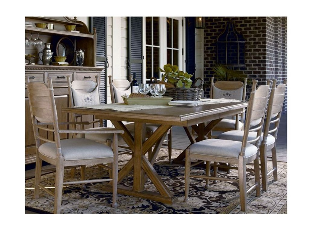 Superbe Paula Deen By Universal Dining Room Family Style Table 192655   Babettes  Furniture   Leesburg,