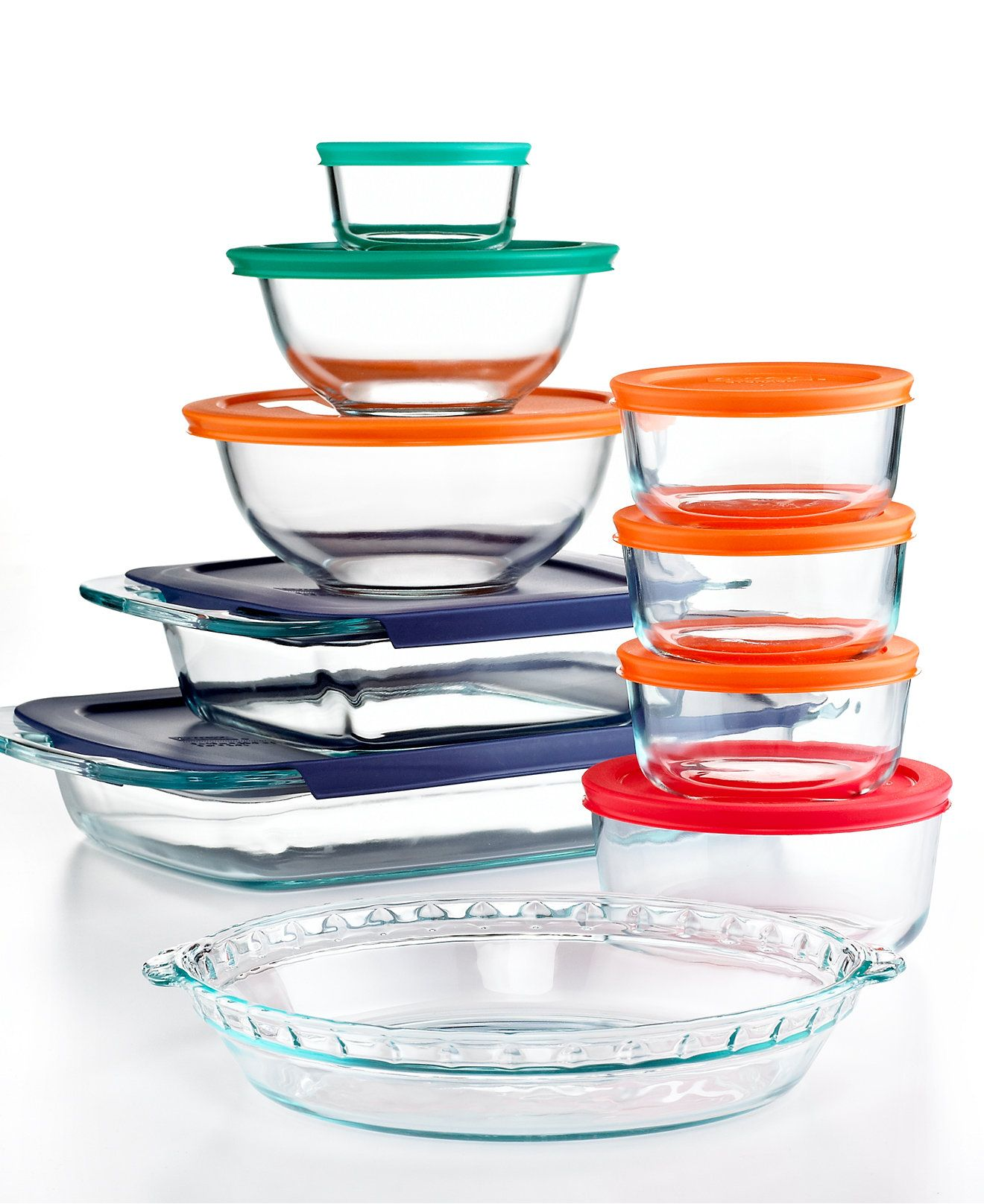 Macy's Top Registry Item Pyrex 19 Piece Bake, Store and