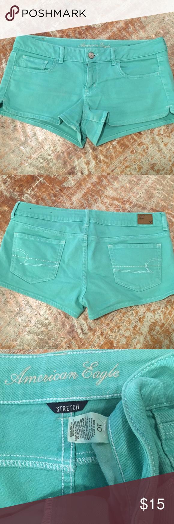 American eagle mint shorts American eagle mint shorts American Eagle Outfitters Shorts Jean Shorts