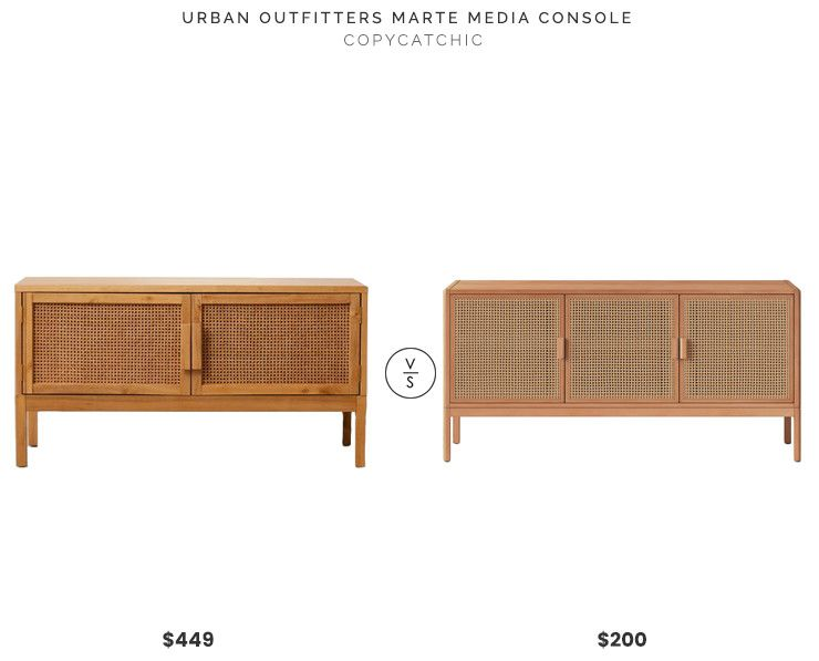 Urban Outfitters Marte Media Console 449 Vs Target 54 Minsmere