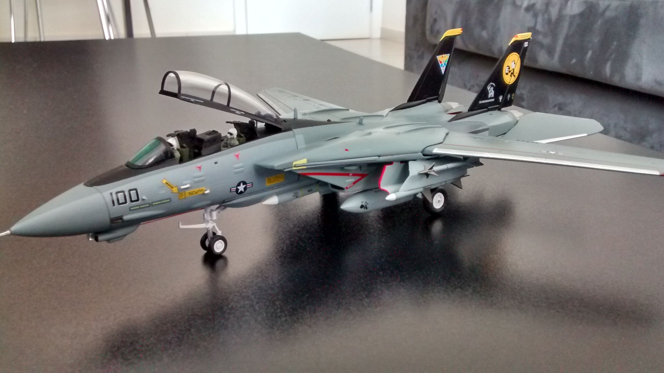 F-14D Tomcat VF-31 Tomcatters Witty Wings escala 1/72