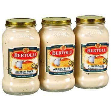 Making Canned Alfredo Sauce Your Own Alfredo Sauce Bertolli