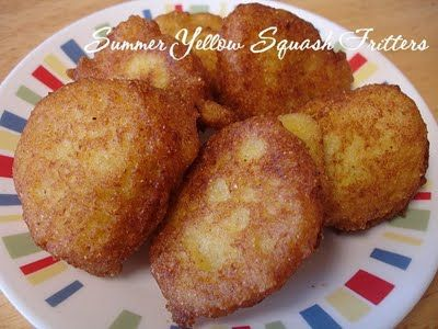 Summer Yellow Squash Fritters
