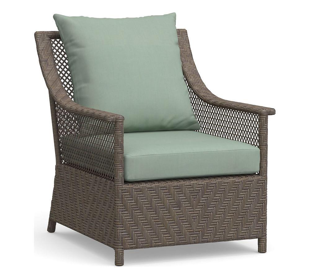 Brea Occasional Chair Cushion Slipcover Sunbrella R Spa Products
