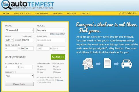 Autotempest The One Stop Car Finder We Weigh The Pros And Cons Of