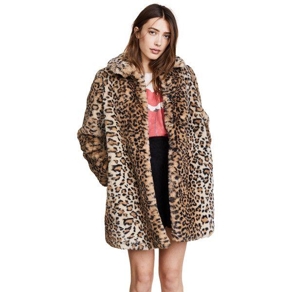 f876c59d711e alice + olivia Kinsley Faux Fur Coat (1 011 AUD) ❤ liked on Polyvore