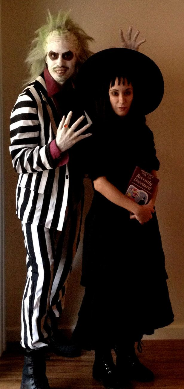 Beetlejuice And Lydia By Xd00rx On Deviantart Scary Couples Costumes Couples Costumes Beetlejuice Costume