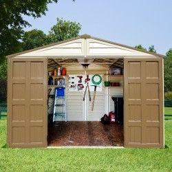Abri De Jardin En Pvc Woodstyle Premium 10 56m Duramax Abri De