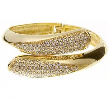 Braceletes femininos de ouro
