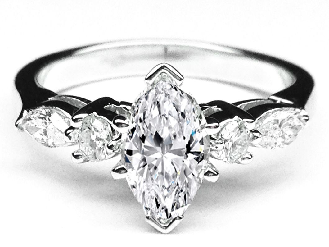 ring engagement what bands read swap diamond is marquise custom