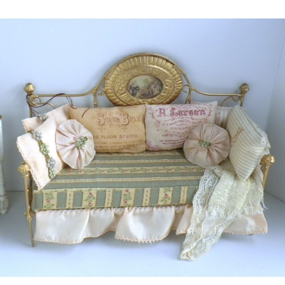Fabulous French Style Day Bed Couch Sofa By Bobbie Johnson