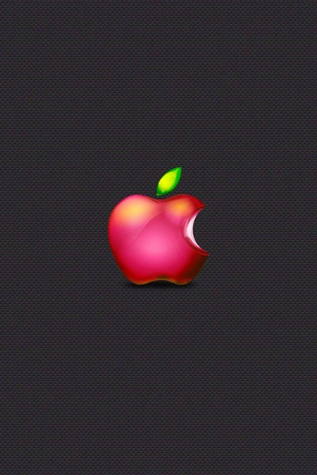 Little Red Apple Fond D Ecran Telephone Fond Iphone Fond Ecran Apple