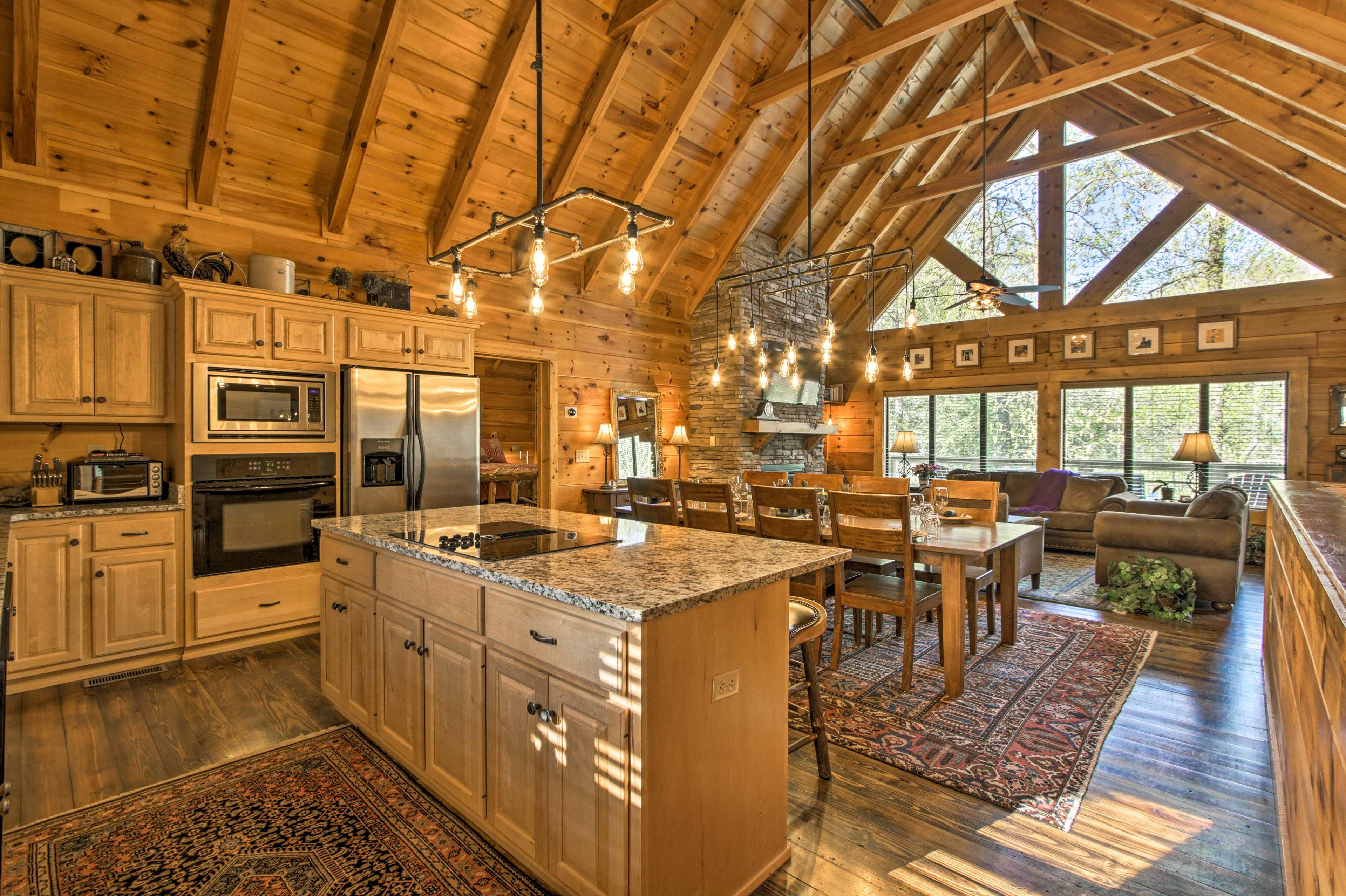 Relaxation awaits at Mountain Medicine, a Tennessee cabin