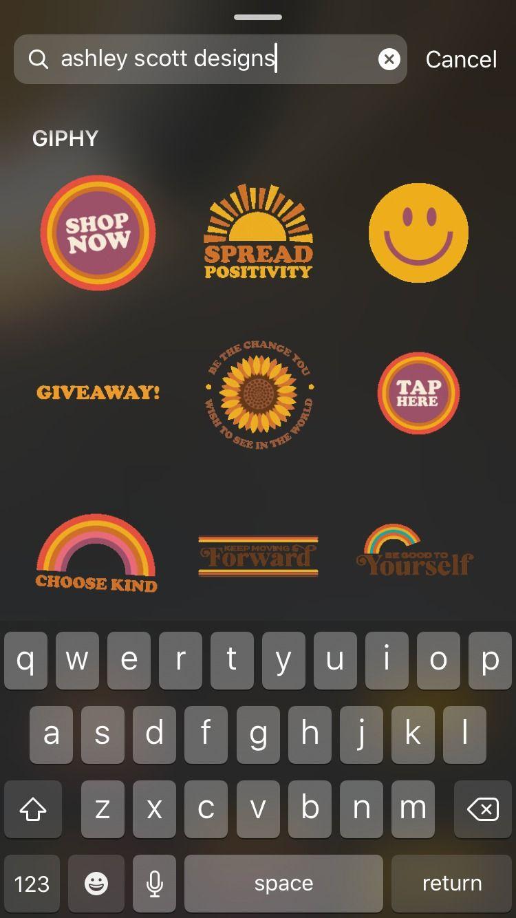 Cute Retro Instagram Stickers In 2020 Instagram Emoji Instagram Granola Girl