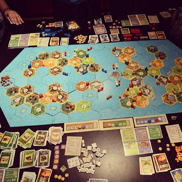 Super Catan and link to rules Board games, Settlers of