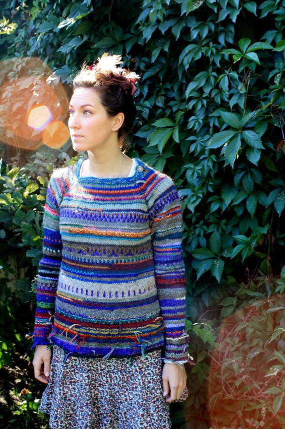 Handmade women sweater by TASSSHA on Etsy