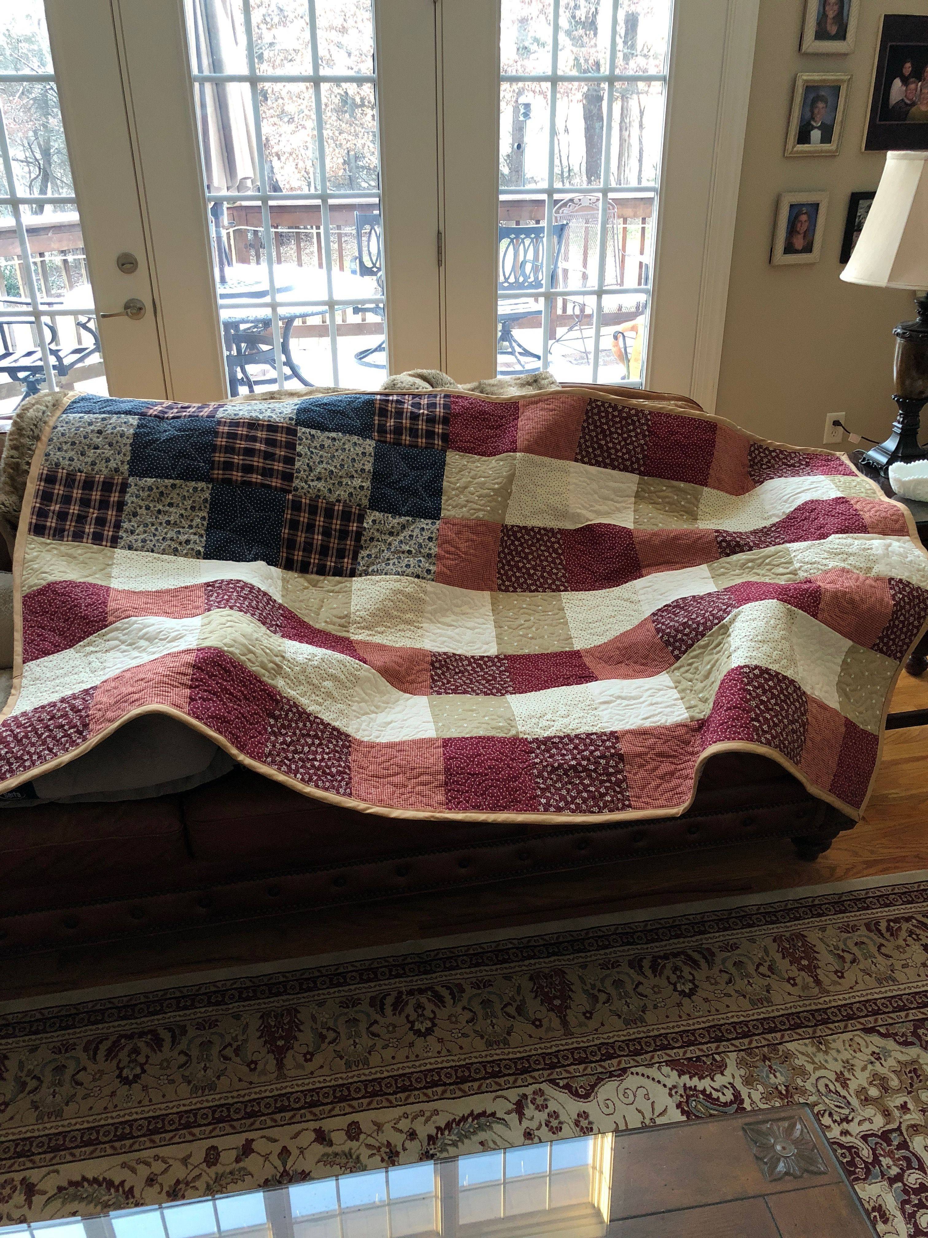 Pin by Renee Murphy on Patriotic | Rustic quilts, Barn quilt
