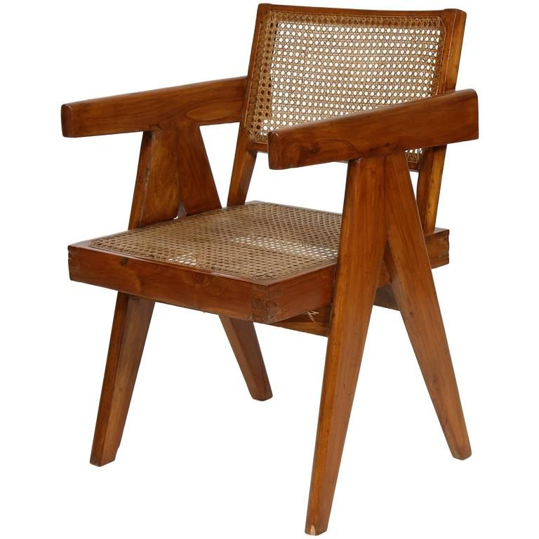 Pierre Jeanneret Armchair   From a unique collection of
