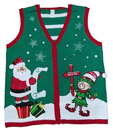 Christmas Vest.Plus Size Christmas Vest Cute Christmas Sweaters For Women
