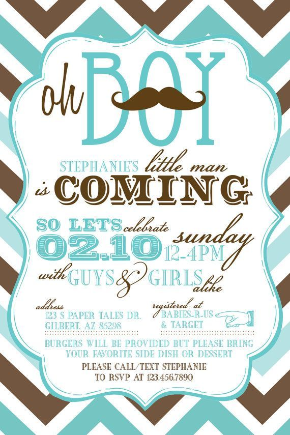 Coed Baby Shower Invitations  Baby Shower Invitation Ideas