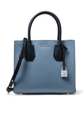 a1d313cfb6f2 Michael Michael Kors Kors Studio Mercer Medium Messenger - Denim/Admiral -  One Size