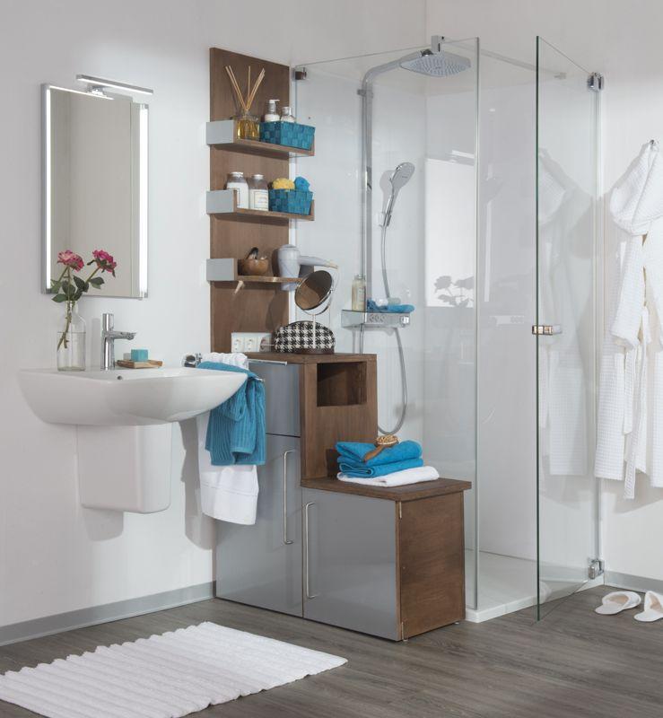Schön Bauplan Badmöbel   Praktische Stauraumlösung Fürs Bad. Perfekt Fürs Kleine  Bad: In Diesem Außergewöhnlichen