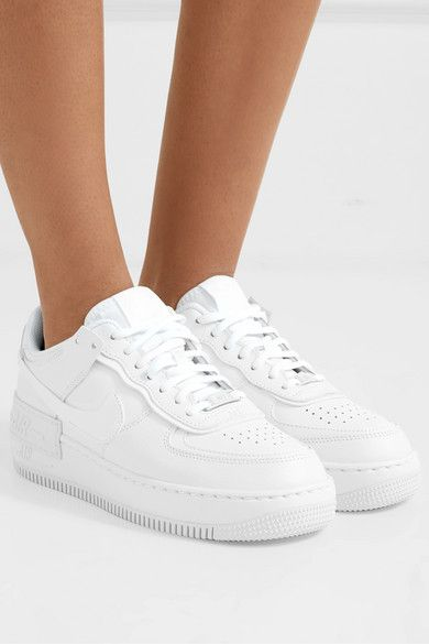 Nike - Nike Air Force 1 Shadow leather sneakers en 2019 ...