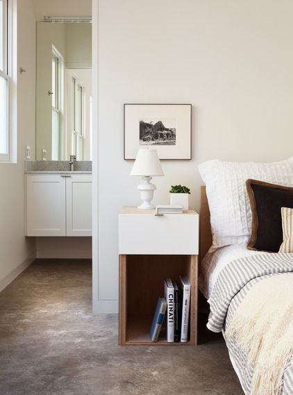 Love The Texture On The White Pillow Modern Bedroom By Michele Lee Willson Photography Bedroom Night Stands Small Bedroom Furniture Apartment Bedroom Decor
